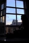 13 Sitting at window