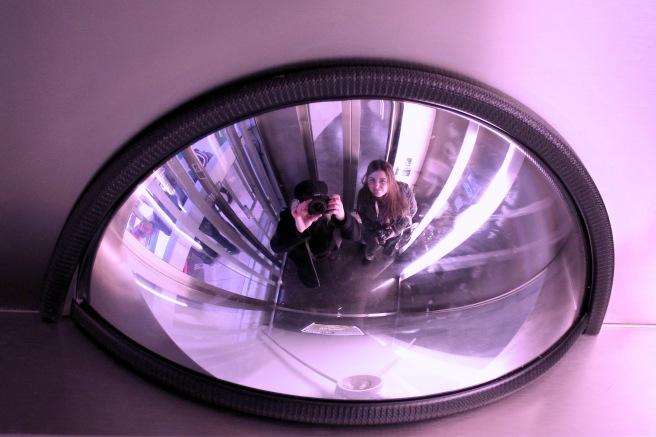 Lift selfie